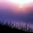 潟の夜明け 撮影=荒俣(ポジフィルム)