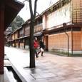 雨のひがし茶屋街