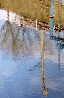 川面は春のゆらぎー高橋川ー