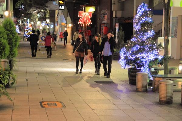11月 電飾の街 タテマチ
